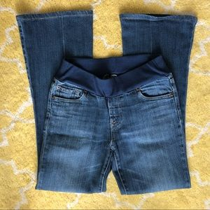 7 for All Mankind Maternity Jeans - Sz 28, Bootcut